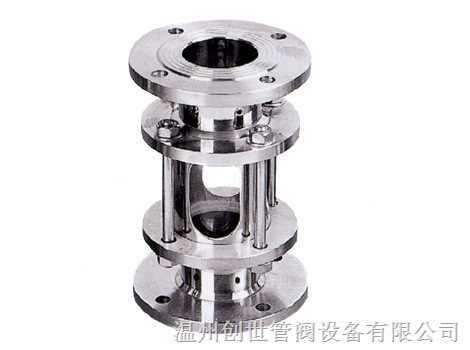 不锈钢法兰视镜-温州创世管阀设备有限公司图片