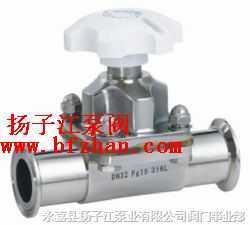 隔膜阀:G49J-10卫生隔膜阀