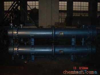 重叠式固定管板换热器