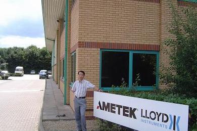 绿色测试的领航人--访LLOYD英国劳埃德仪器公司中国区经理